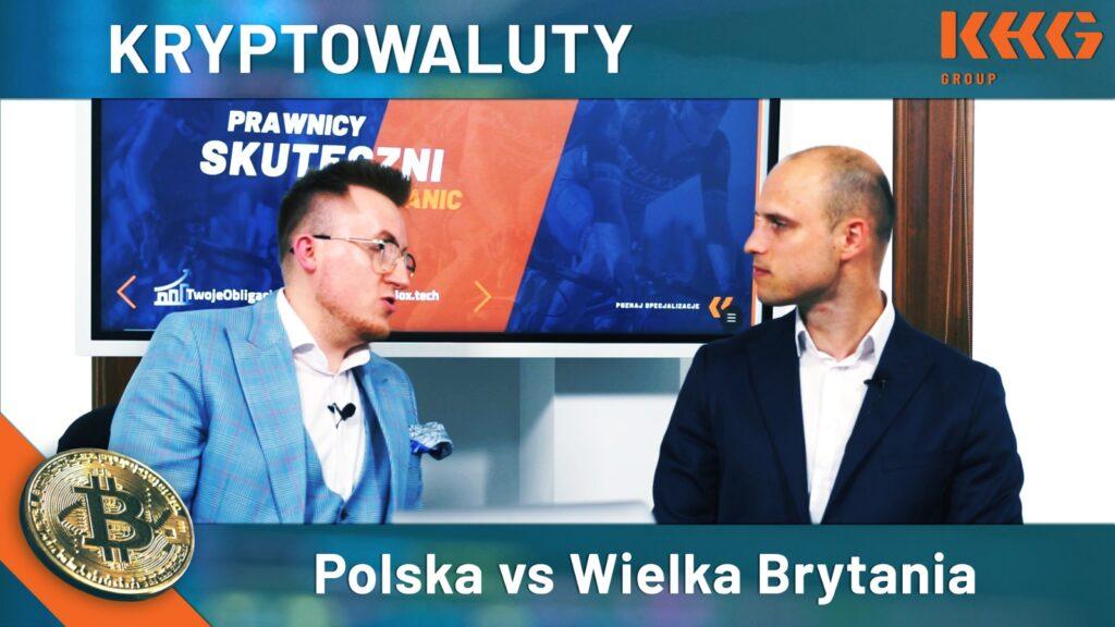 Kryptowaluty w Polsce i Wielkiej Brytanii